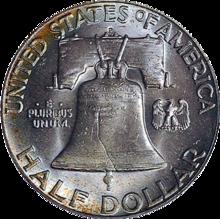 Franklin Half Dollar - Reverse