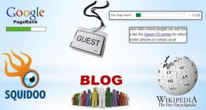 Places For Building Backlinks Include Blogs Articles Squidoo GOV and EDU sites